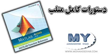 دانلود کتاب مرجع دستورات نرم افزار متلب – MATLAB Function Reference
