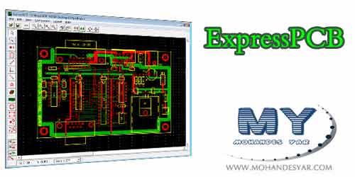 ExpressPCB دانلود نرم افزار طراحی فیبر مدار چاپی Express PCB به همراه آموزش