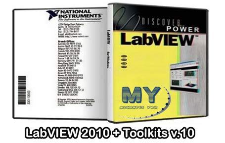 دانلود نرم افزار LabVIEW 2010 + Toolkits v.10