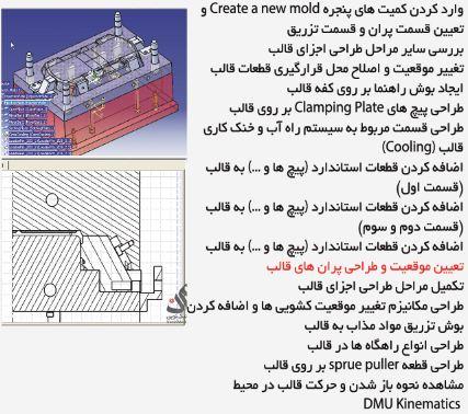 آموزش catia طراحی قالب