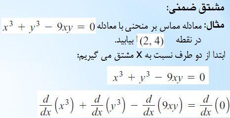 آموزش ریاضی یک دانشگاه حد تابع