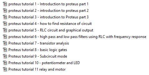 آموزش proteus
