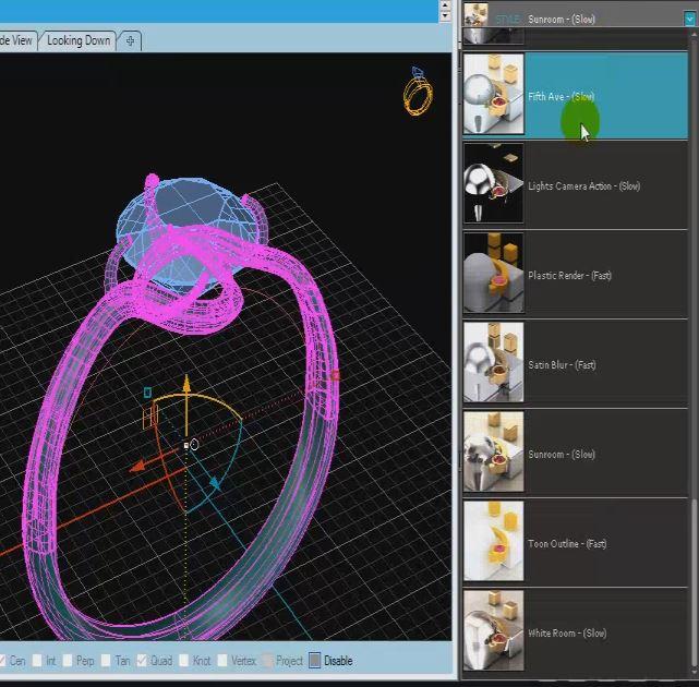 آموزش طراحی حلقه در ماتریکس