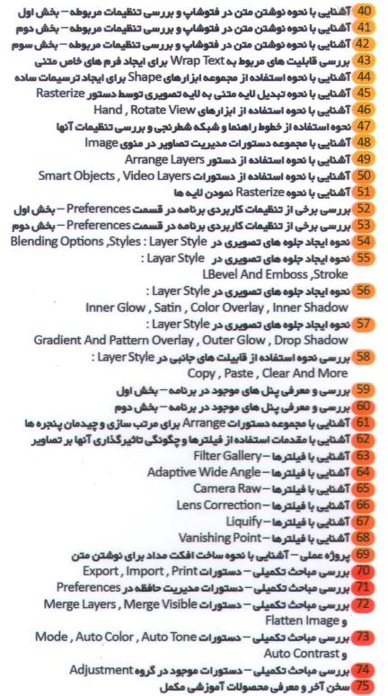 فیلم آموزشی photoshop