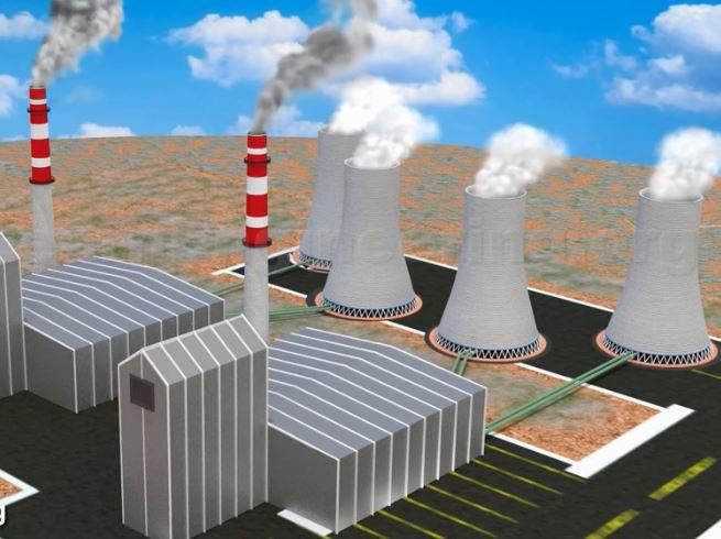 انیمیشن آموزشی نیروگاه حرارتی