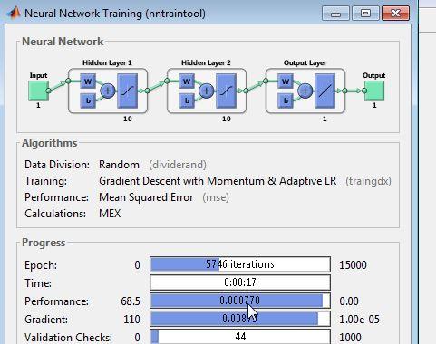 آموزش شبکه های عصبی در متلب
